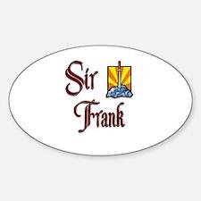 Sir Frank Oval Decal