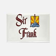 Sir Frank Rectangle Magnet