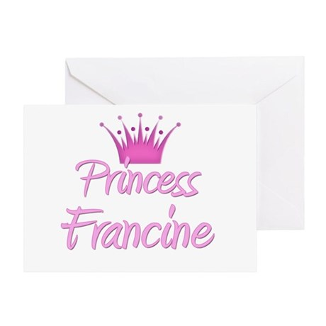 Princess Francine Greeting Card