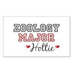 Zoology Major Hottie Rectangle Sticker 10 pk)