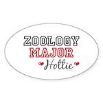 Zoology Major Hottie Oval Sticker (50 pk)