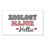 Zoology Major Hottie Rectangle Sticker