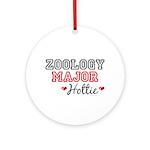 Zoology Major Hottie Ornament (Round)
