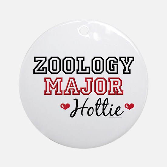 Zoology Major Hottie Ornament (Round)