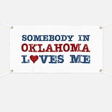 Somebody in Oklahoma Loves Me Banner