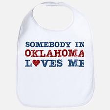Somebody in Oklahoma Loves Me Bib