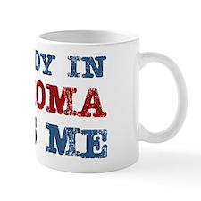 Somebody in Oklahoma Loves Me Mug