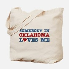 Somebody in Oklahoma Loves Me Tote Bag