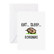Eat ... Sleep ... ECHIDNAS Greeting Cards (Pk of 1