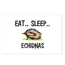 Eat ... Sleep ... ECHIDNAS Postcards (Package of 8