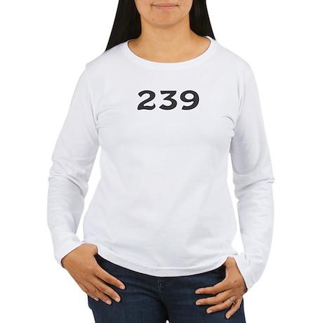 239 Area Code Women's Long Sleeve T-Shirt