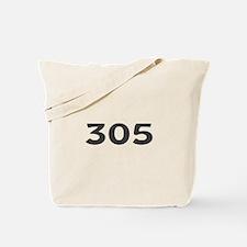 305 Area Code Tote Bag