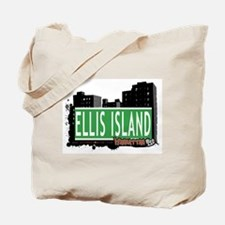 ELLIS ISLAND, MANHATTAN, NYC Tote Bag