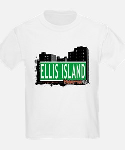 ELLIS ISLAND, MANHATTAN, NYC T-Shirt