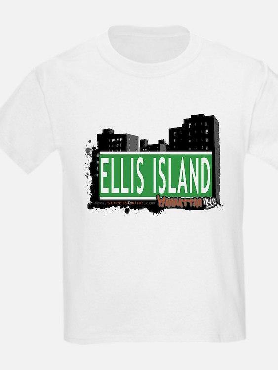 ELLIS ISLAND, MANHATTAN, NYC T-Shirt