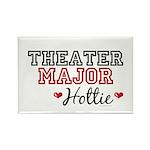 Theater Major Hottie Rectangle Magnet (100 pack)