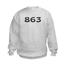 863 Area Code Sweatshirt
