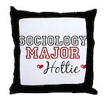 Sociology Major Hottie Throw Pillow