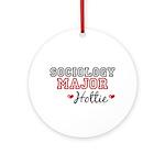 Sociology Major Hottie Ornament (Round)