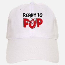 Ready To Pop Baseball Baseball Cap