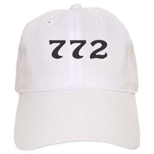 772 Area Code Baseball Cap