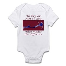 Ergs and other rowing images Infant Bodysuit