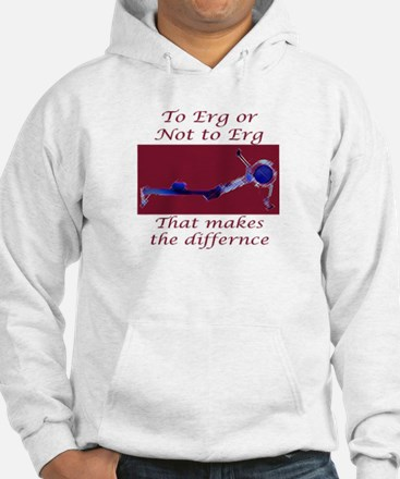 Ergs and other rowing images Hoodie
