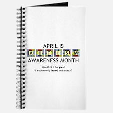 Autism Awareness Month Journal