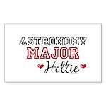 Astronomy Major Hottie Rectangle Sticker