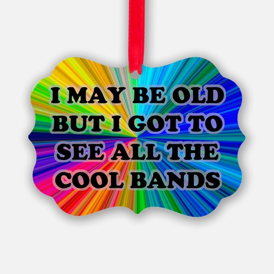 All The Cool Bands Ornament