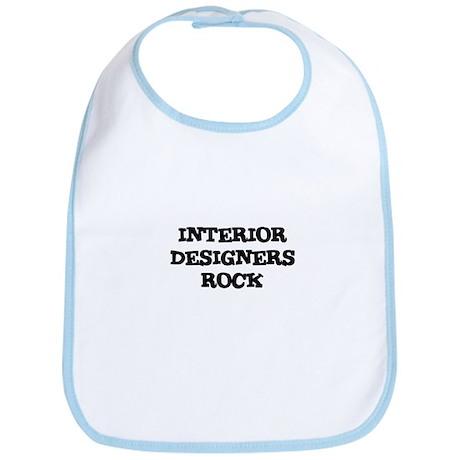 INTERIOR DESIGNERS ROCK Bib