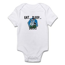 Eat ... Sleep ... DUCKS Infant Bodysuit