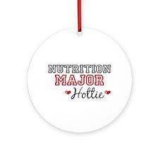Nutrition Major Hottie Ornament (Round)