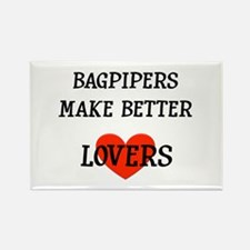 Bagpipe Gift Rectangle Magnet