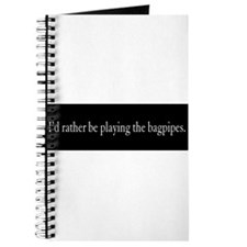 Bagpipe Gift Journal