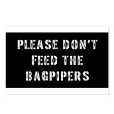 Bagpipe Gift Postcards (Package of 8)