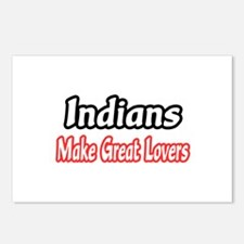 """""""Indians..Great Lovers"""" Postcards (Package of 8)"""