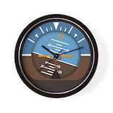 Airplane Wall Clocks