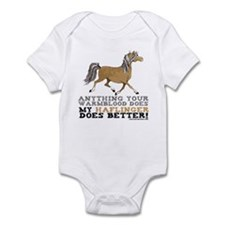 Haflinger Horse Infant Bodysuit