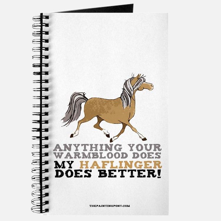 Haflinger Horse Journal