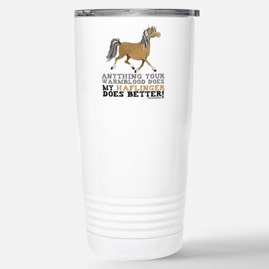 Haflinger Horse Stainless Steel Travel Mug