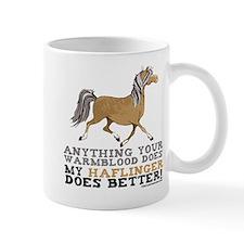 Haflinger Horse Mug