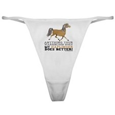 Haflinger Horse Classic Thong