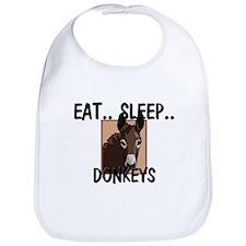 Eat ... Sleep ... DONKEYS Bib