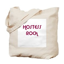 HOSTESS ROCK Tote Bag
