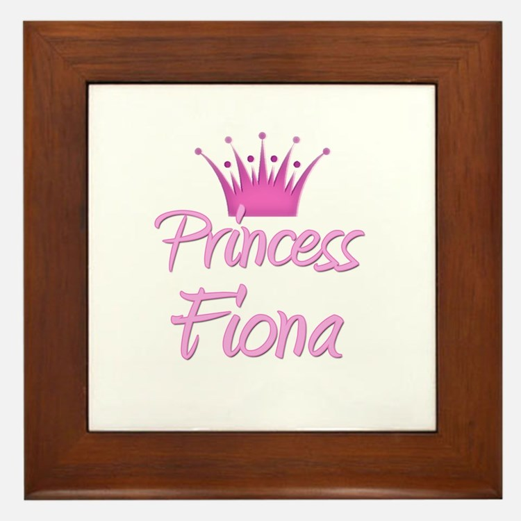 Princess Fiona Framed Tile