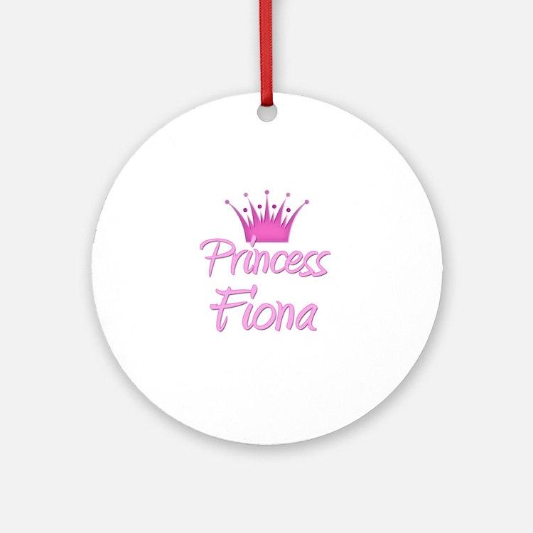 Princess Fiona Ornament (Round)