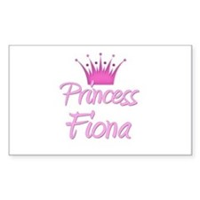 Princess Fiona Rectangle Decal