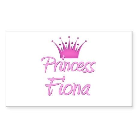 Princess Fiona Rectangle Sticker