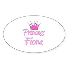 Princess Fiona Oval Decal
